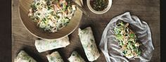 Freshen up your lunch with Gordon's Summer Rolls recipe! Read how to make Gordon Ramsay's flavourful prawn roll recipe here. Bread Street Kitchen, Gordon Ramsay Restaurants, Vietnamese Summer Rolls, Rice Paper Rolls, Gordon Ramsey, Rolls Recipe, Recipe Box, Cooking Instructions, Chef Recipes