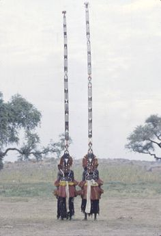 Africa    Sirige masqueraders during the Dama ceremony, Ireli, Mali   © Eliot Elisofon. 1959