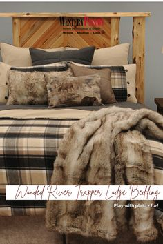 Western Bedrooms, Western Bedding, Wood River, Rustic Elegance, Bedding Collections, Warm And Cozy, Bedding Shop, Westerns, Home