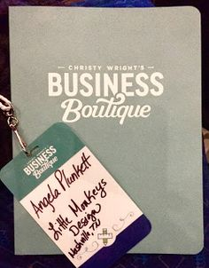 Christy Wright's Business Boutique - what a great encouraging weekend!