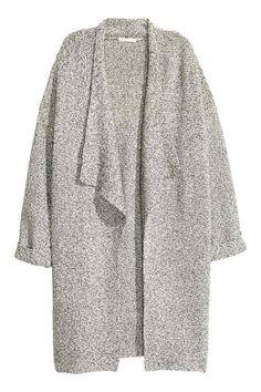 Textured-knit cardigan   H&M
