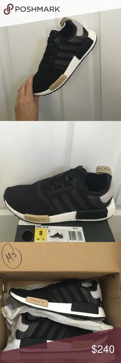 e92cec451bfa Adidas NMD R1 In Black Mesh! Size 8....SOLD OUT!