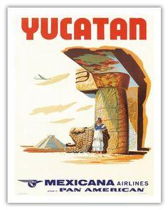 1960 Indian Dancers ~CMA~Compañía Mexicana de Aviación~ Airline Issued Postcard