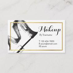 241 Best Makeup Artist Business Cards