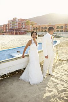 Rhea and Rio threw in Cabo San Lucas for 35 of their nearest and dearest. The L.A.-based couple decided that having an intimate, sentimental wedding was what they wanted, so they made it happen, all for less than $10,000