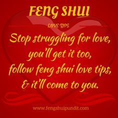 Here're 17 Feng Shui Love Tips that'll help attract love & romance in your life. You'll also learn cures for love corner & the use of feng shui love symbols