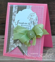Laughter by slschaf771 - Cards and Paper Crafts at Splitcoaststampers