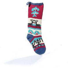 Organic Knitted Christmas Stockings by ChunkiChilli