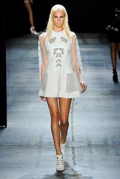Alexander Wang Spring 2012 Ready-to-Wear Collection Photos - Vogue