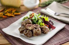 Mini-trouxinhas de carne