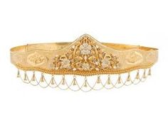 Image result for indian gold waist belt designs
