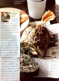 Italiaans gehaktbrood, te lekker! Great Recipes, Favorite Recipes, Healthy Recipes, Healthy Food, Meat Steak, Tasty, Yummy Food, What To Cook, Meatloaf