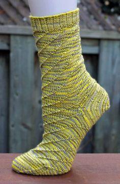 Ravelry: Solar Vortex Socks pattern by Dana Gervais
