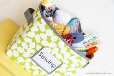 Sturdy fabric storage box: A must-do -- Clarissa