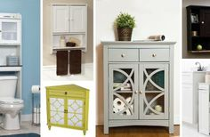 26 Bathroom Storage Cabinets that will Help You Keep Everything Organized