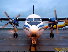 Fokker F-27-500F Friendship aircraft picture