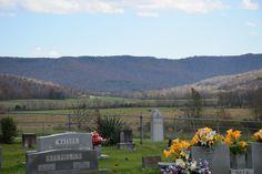 View of the Wolfe River Valley from the Alvin C. York gravesite. Pall Mall, TN James E. Akenson jakenson@tntech.edu