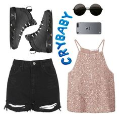 """""""Passenger * missing someone"""" by lululisi ❤ liked on Polyvore featuring MANGO and Topshop"""