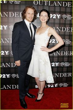 Sam Heughan & Caitriona Balfe Are Picture Perfect at 'Outlander' Screening