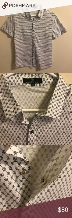 Men's dress shirt Super nice quality men's shirt. Brand new never worn. Size M runs small Bogner Shirts Dress Shirts