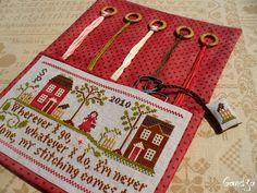 Traveling Stitcher de LITTLE HOUSE NEEDLEWORKS - L'Atelier de Gandja