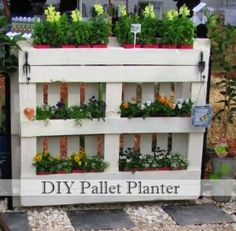 DIY Pallet Planter | Use Indoors or Out