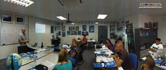 Panorama of the entire classroom at our Head Office, with our candidates listening intently to Richard's presentation :)