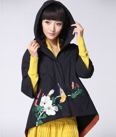 #broidery #машиннаявышивка #пальто #декор #embroidery