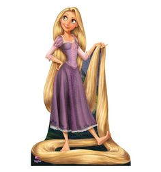 Rapunzel is the main protagonist from the animated Disney movie, Tangled. In this movie, Rapunzel has extremely long, golden hair that can heal people or keep them young by singing a special song. This princess is kept in a tower by Mother Gothel, who is just using Rapunzel's powers to keep herself young. She then meets Eugene Fitzherbert, who shows her what the world is really like. On the way, she falls in love with Eugene, makes new friends, discovers her true identity, and has a good…