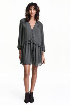 Vestido em tecido crepe | H&M