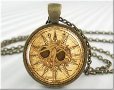 His true compass