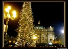 Vatican City any time, but Christmastime looks lovely.