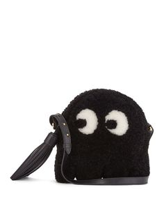 ANYA HINDMARCH Anya Hindmarch. #anyahindmarch #bags #shoulder bags #lining #fur #crossbody #suede #