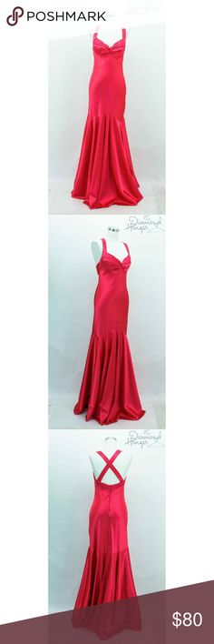 CACHE Designer 4 Small Pink Formal Long Maxi A gorgeous dress in great condition!!   -Zip closure down back   -Lined  -Bra lining  Measurements  Front length: 63 in  Armpit to armpit: 18 in  **All measurements are approximate  **All measurements are taken of the item laying flying CACHE Dresses