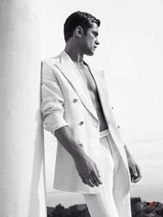 The Great O'Pry: Sean Models White Summer Fashions for May 2015 GQ Spain