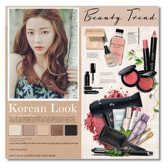 """Korean Look"" by defivirda ❤ liked on Polyvore featuring beauty, Bobbi Brown Cosmetics, 3.1 Phillip Lim, T3, Organic Surge, Show Beauty and GHD"