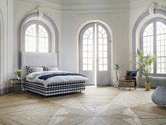 Yvonne B(örjesson) for Hästens Luxury Bed Collection