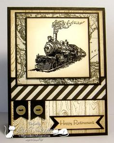 Stamps: Traveler, Hardwood, Teeny Tiny Wishes Paper: Basic Black, Very Vanilla, Typeset Specialty DSP Paper Size: A2 Ink: Versa Mark, Cru...