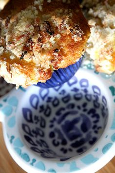 Pineapple Orange with Coconut Crumble Topping Muffins #recipes