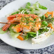 Insalata di calamari e gamberetti. | Colazione da Jo Calamari, Shrimp, Pasta, Meat, Chicken, Wire, Octopus, Noodles, Buffalo Chicken
