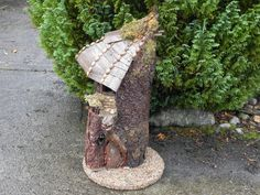 Fairy Homes, Sculptures, Homemade, Texture, Heart, Wood, How To Make, Crafts, Surface Finish