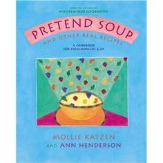 Each recipe is illustrated with step-by-step instructions and simple wording making it easy for kids to prepare tasty and healthy meals. I cannot say enough wonderful things about this one!! (Preschoolers-3rd Grade)