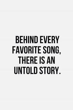 That is so truemetimes i just want you to listen to a song so true i listen to music that i relate to not happy music many untold stories solutioingenieria Gallery