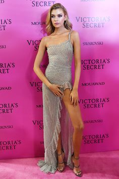 See the Hottest Looks from the 2017 Victoria's Secret Fashion Show After-Party - Stella Maxwell from InStyle.com