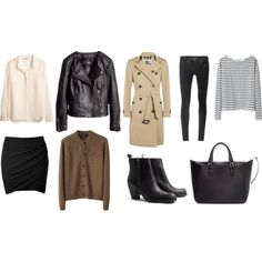 Soft weather essentials by trenchcoatandcoffee on Polyvore featuring A.P.C., H&M, Wood Wood, Burberry, Helmut Lang, Acne Studios and Zara