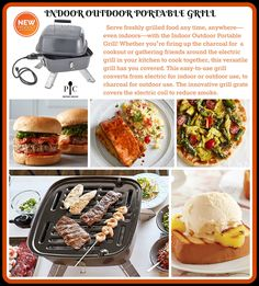 Shop The Pampered Chef Indoor Outdoor Portable Grill and other top kitchen products. Explore new recipes, get cooking ideas, and discover the chef in you today! Pampered Chef Party, Pampered Chef Recipes, Indoor Outdoor Grill, Outdoor Cooking, Outdoor Grilling, Cooking For Beginners, Cooking Tips, Best Smoker Grill, Chef Grill