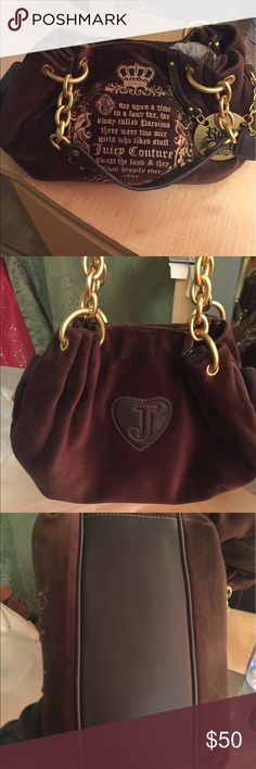 Jucy couture small shoulder NWOT In brand new condition only used once and divided it was to small for me Juicy Couture Bags Shoulder Bags