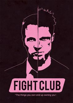 Fight Club - Filmes | Posters Minimalistas