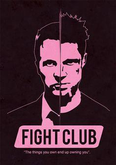 Fight Club - Filmes | Posters Minimalistas