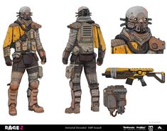 RAGE 2 - Immortal Shrouded - EMP Assault by thomaswievegg on DeviantArt Star Wars Characters Pictures, Sci Fi Characters, Character Concept, Character Art, Fallout, Edge Of The Empire, Sci Fi Armor, Star Wars Concept Art, Star Wars Outfits